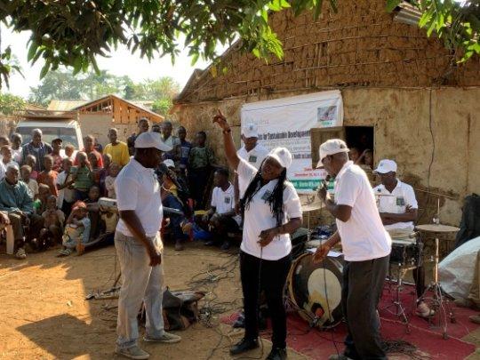 Community Theater in Liberia
