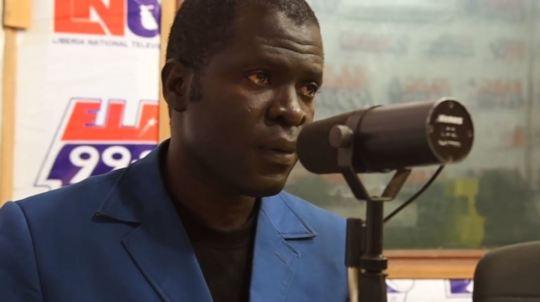 Emmanuel Urey hosts a weekly radio program on land