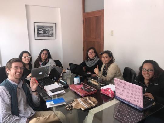 Team Visionaria, Cusco 2018