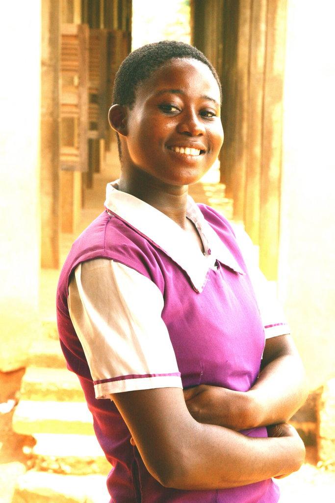 Arm Nigerian girls w/ the W.E.A.P.O.N of education