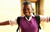 Arm Nigerian girls w/ the W.E.A.P.O.N of education