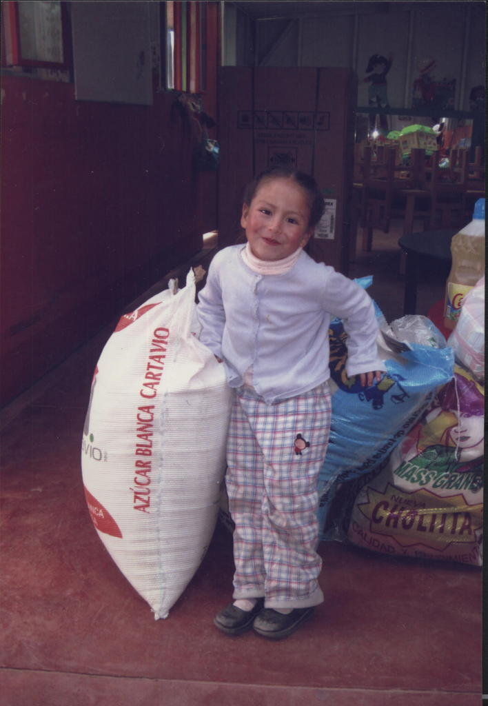 Early Stimulation and Food for 40 Children of Peru