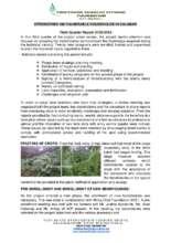 Strengthen 100 Vulnerable HHs 3rd Quarter Report (PDF)