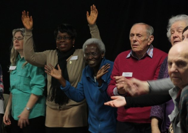 Tackle isolation among 65yr olds in east London