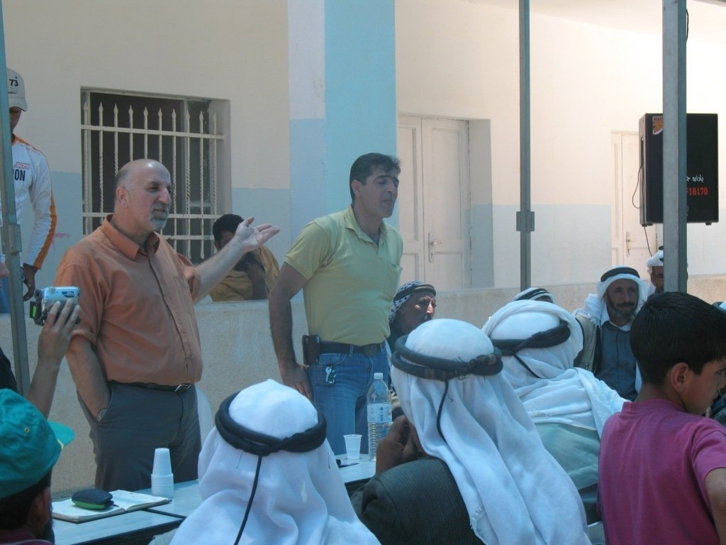 Dialog meetings between Israelis and Palestinians