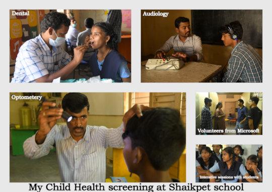 Govt School in Shaikpet Hyderabad