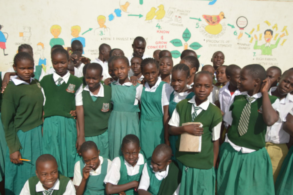 A bright financial future for 4,000 Kenyan pupils