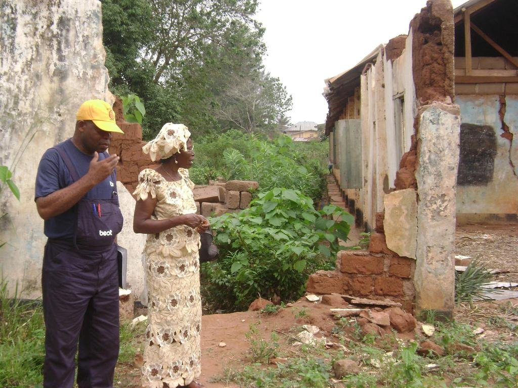 Construct two classrooms for Group Schools Eziama