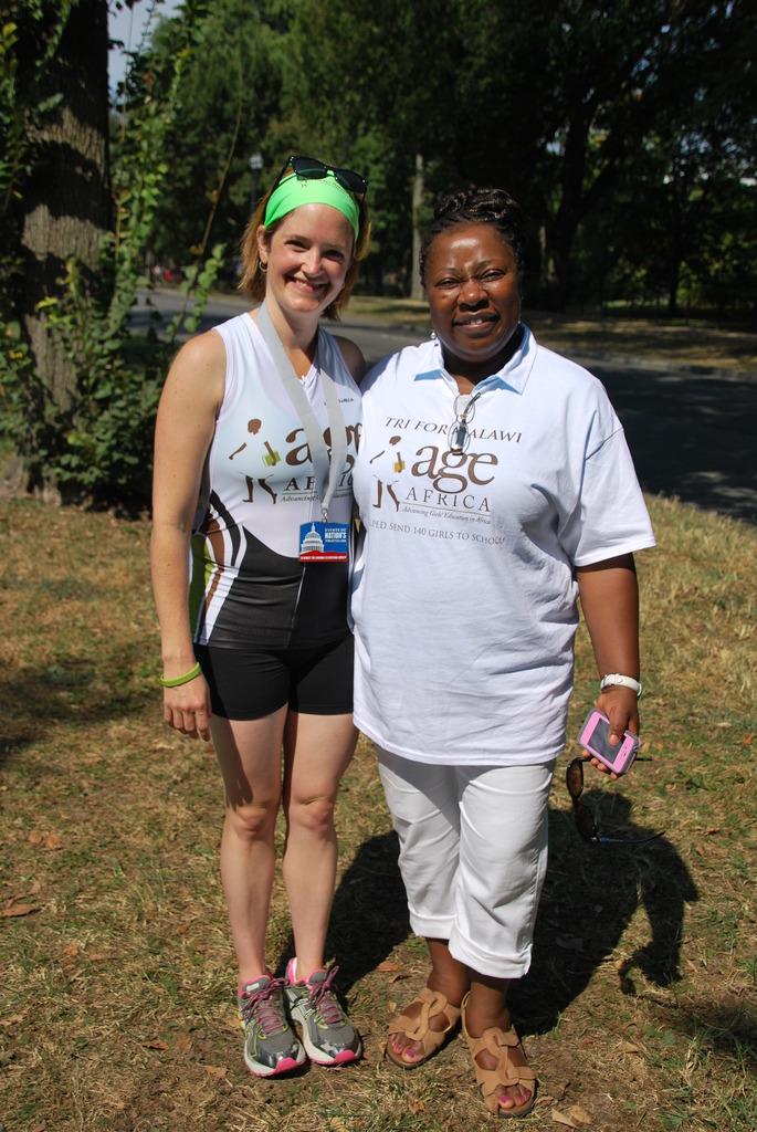 Founder, Xanthe Ackerman and the Ambassador