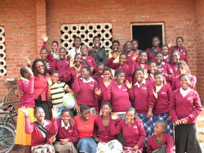 """""""Haaaay!"""" The Girls of Nsala CDSS"""