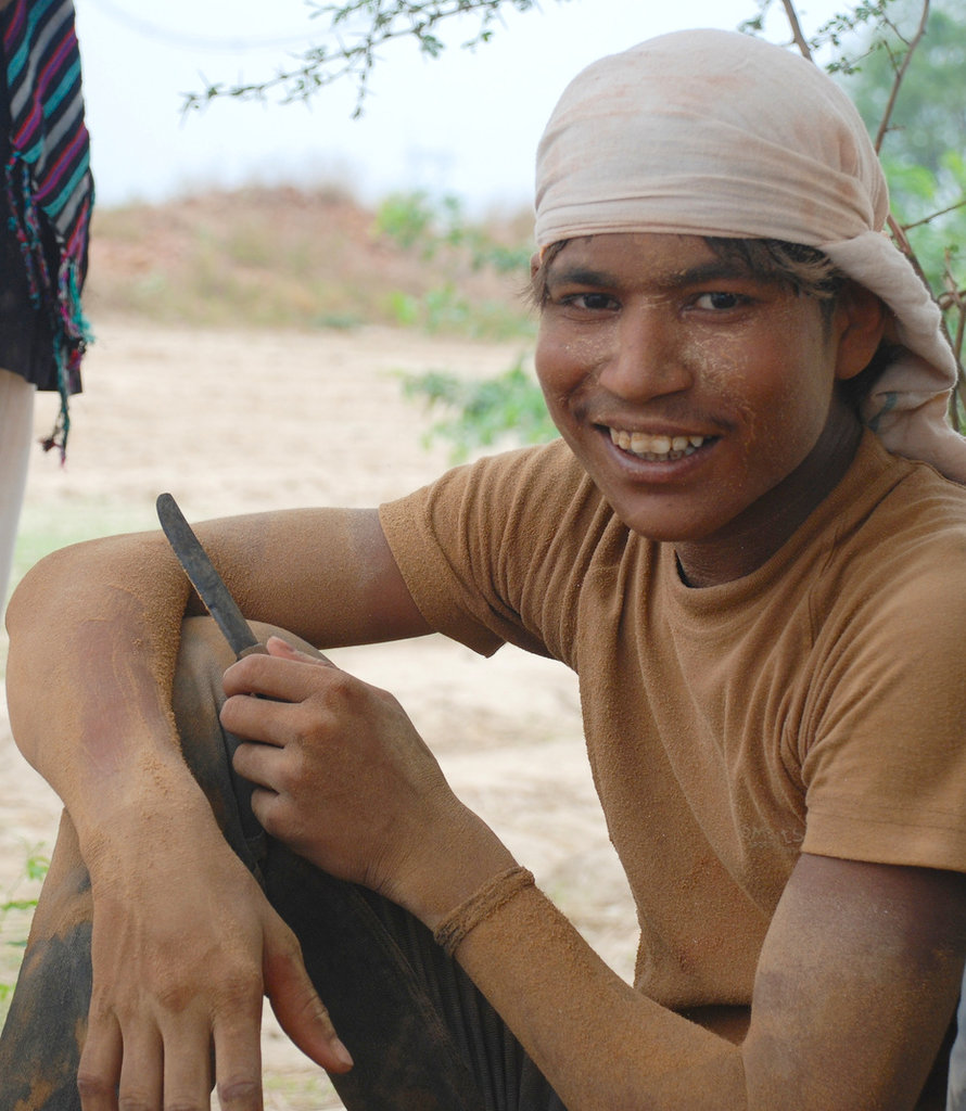 A 15-year-old who dropped out of school at grade 4