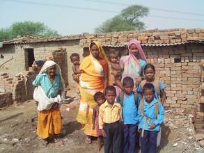 Geeta and family
