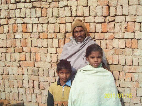 Neeraj, Sukhpal and Kamlesh, one year ago
