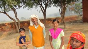 Neeraj, Sukhpal, Kamlesh and sister
