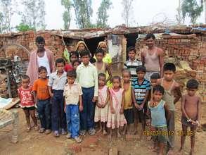 These brick kiln children are now in school
