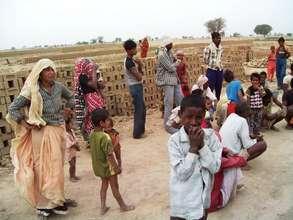 More children who labor in Mewat's brick kilns