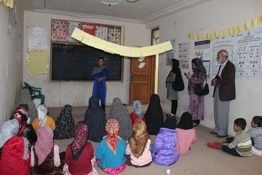 Young Students in a Learning Center