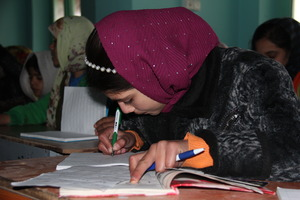 Girl in an AIL class