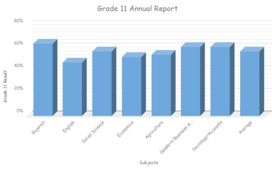 Grade 11 Annual Report