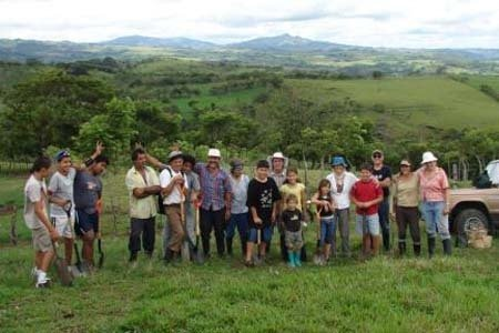 Connecting Forest islands in Costa Rica