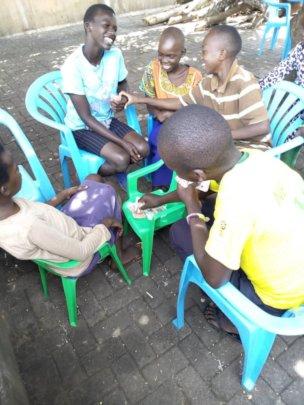 Children Enjoying Activities at School