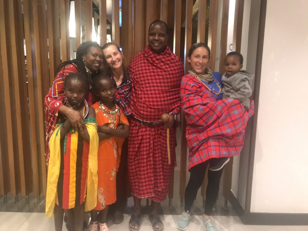 We love our Massai Family