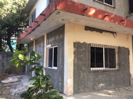 New stucco, no more cracked walls
