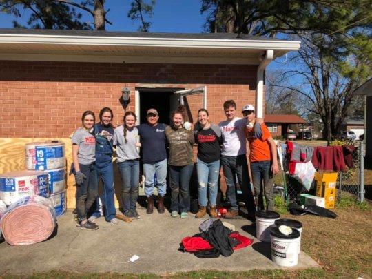 Photo from Fuller Center Disaster Rebuilders