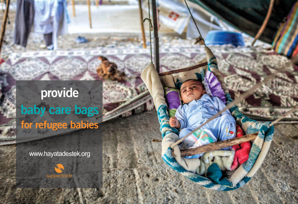 project photo for Support Refugee Babies 2018-2019
