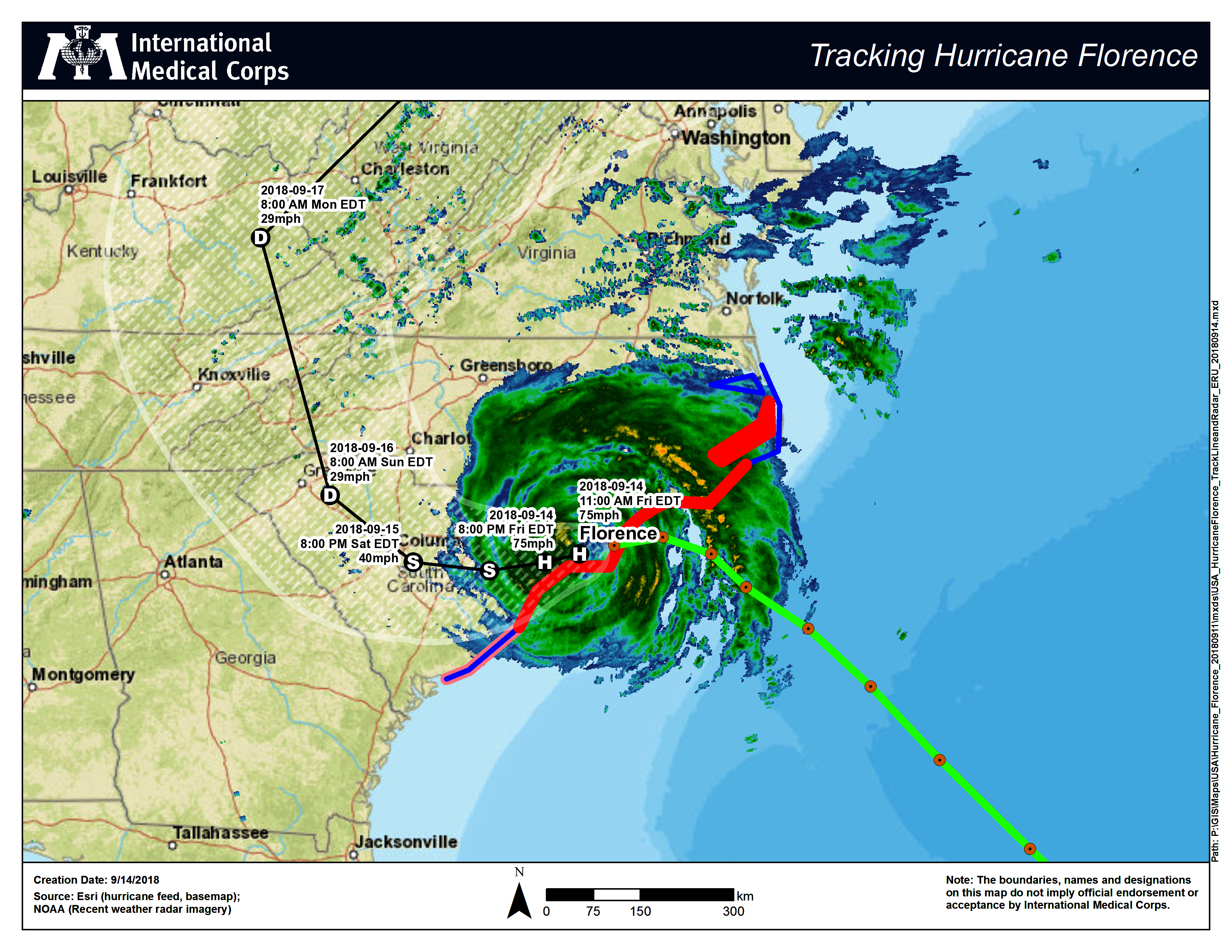 Donate to Emergency Response to Hurricane Florence - GlobalGiving