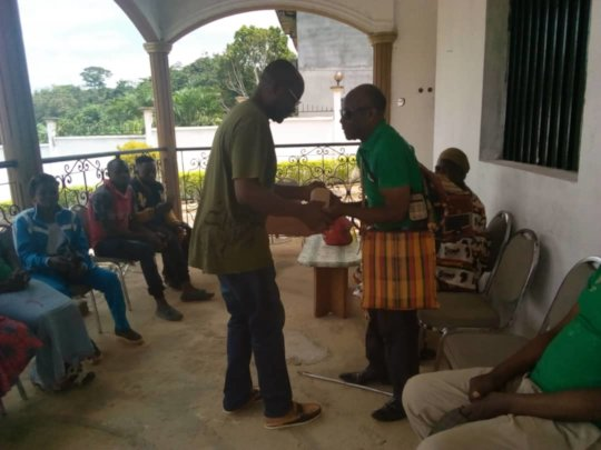July 6, 2019 Ceremony  JRCCA acquired land