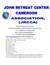 JRCCA Report on Land Purchased (PDF)