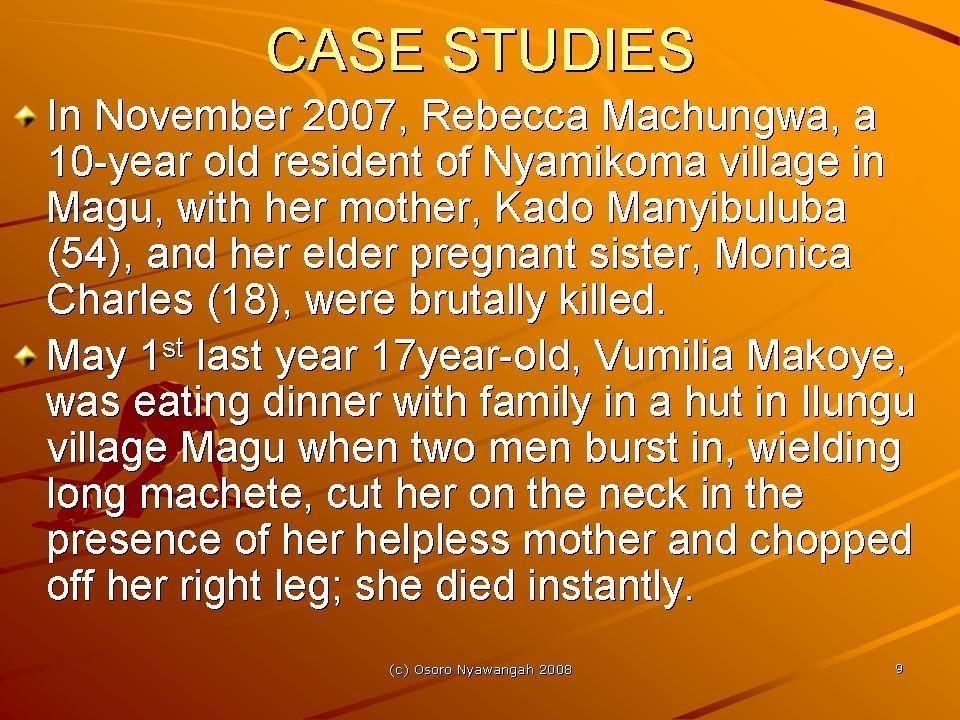 Safe Water to 120 Albino Families in Tanzania