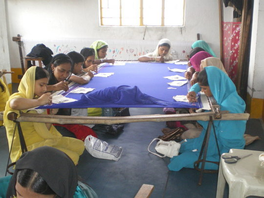 Making Products at Vocational Training Project