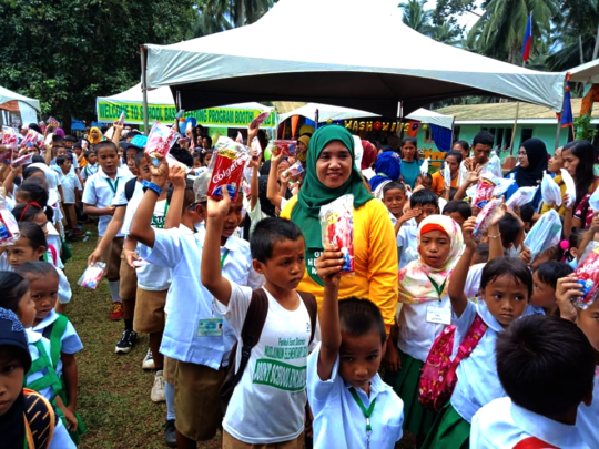 Distribution of hygiene kits