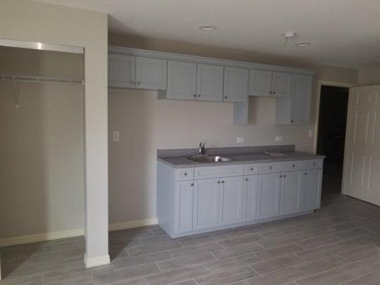 Kitchen Area in SRO Rooms
