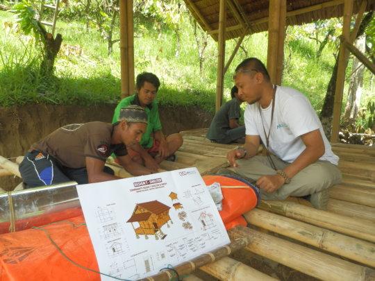 Dani Learning Bamboo Construction