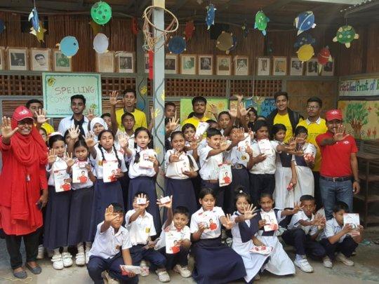 Lifebuoy's School of Five Launch