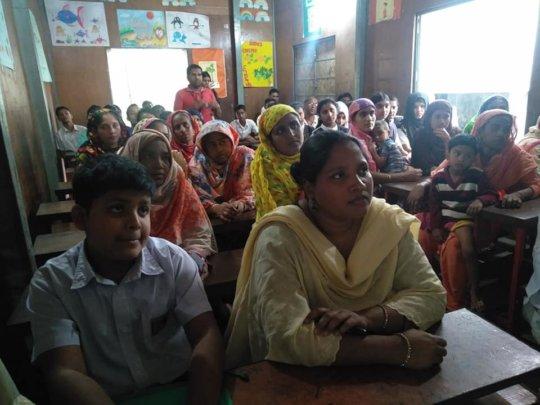 MTB ANKUR Introduction at JAAGO's Banani School
