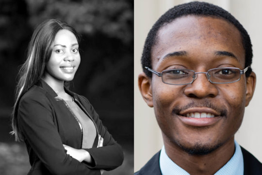 USAP Alum Shantel and Itai Earn Rhodes Scholarship
