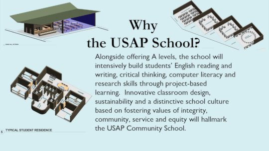 USAP Community School Building Designs