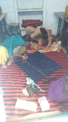 Sewing in an empowerment centre