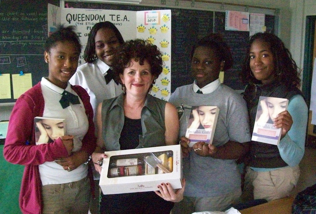 Dr. Patti and Queendom TEA Girls