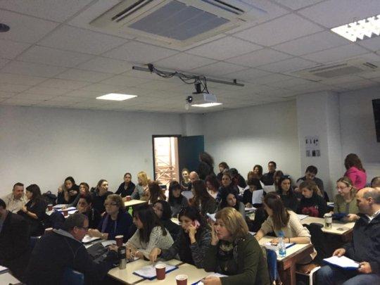 Full training room in Cyprus_Jan. 2017