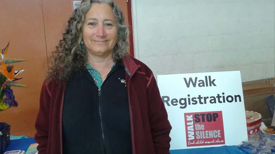 Amy at Walk to Stop the Silence in CA_April 2016