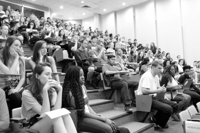 Audience at Symposium at UMD in April