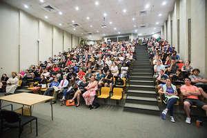 Audience at Symposium at UMD in April