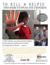 Screening of To Kill A Kelpie at U of MD Nov. 13 (PDF)