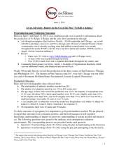 Pre-Post Test Results-To Kill A Kelpie Production (PDF)