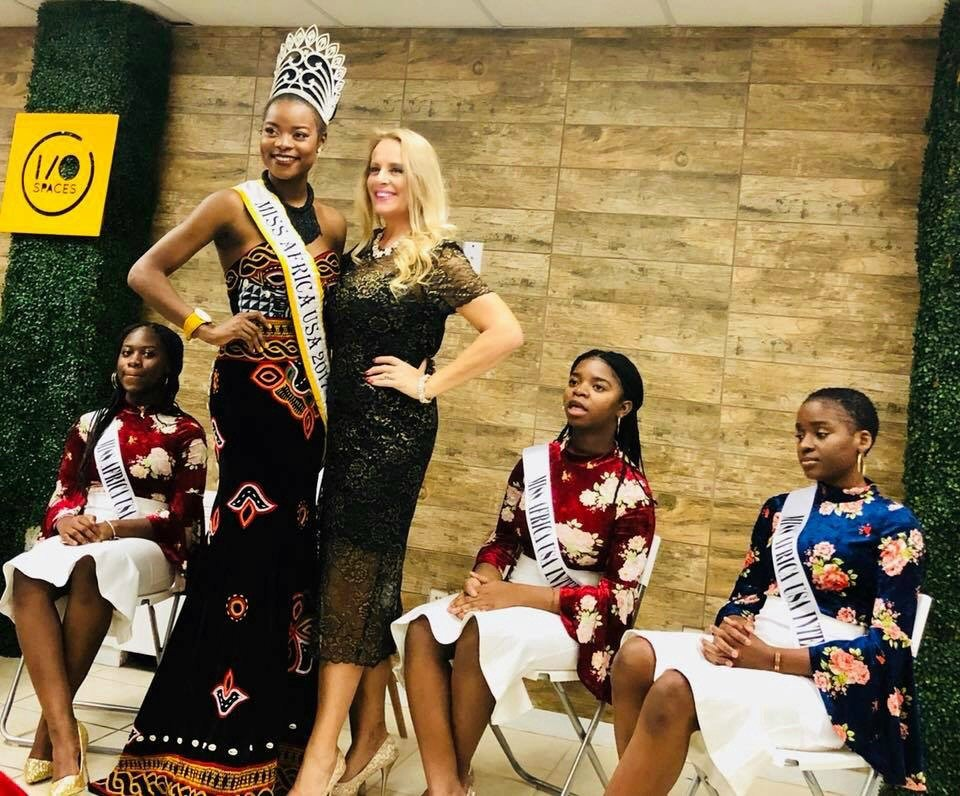 Miss Africa USA Appreciation Cocktail Event